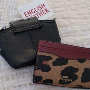 2 pcs cc and coin purse